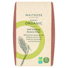 Waitrose Duchy Organic self raising brown flour