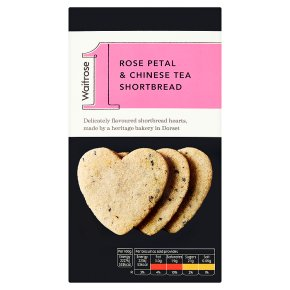 Waitrose 1 Rose Petal & Tea Shortbread