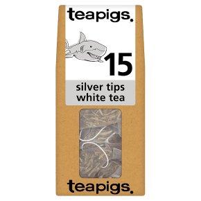 Teapigs silver tips white tea 15 tea bags