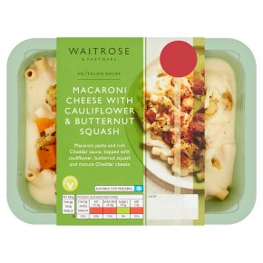 Waitrose Italian Macaroni Cheese with Cauliflower & Squash