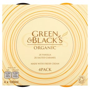Green & Black's 2 Vanilla 2 Salted