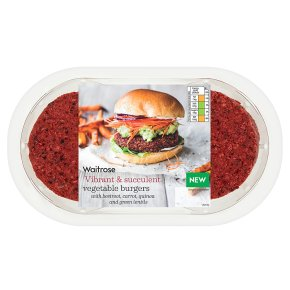 Waitrose Vegetable Burgers