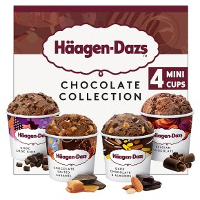 Haagen-Dazs Chocolate Collection Mini Cup Ice Cream