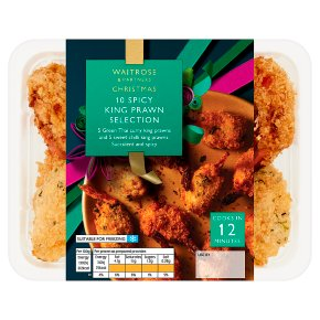 Waitrose 10 Spicy Prawn Selection