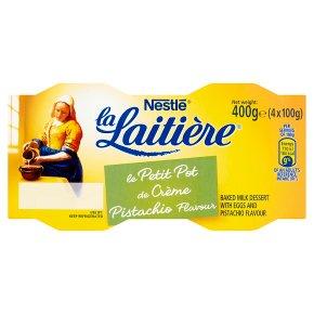 La Laitière Crème Saveur Pistache