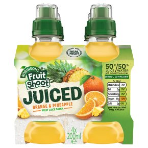 Robinsons Fruit Shoot Juiced Orange & Pineapple