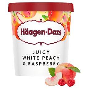 Häagen-Dazs White Peach & Raspberry