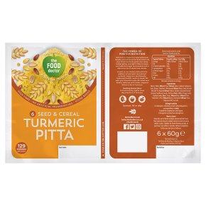 The Food Doctor Seed & Cereal Turmeric Pitta