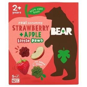 Bear Paws Strawberry & Apple