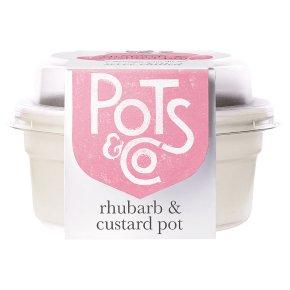 Pots & Co Rhubarb & Custard