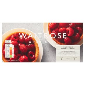 Waitrose Frozen 2 tartes aux framboises