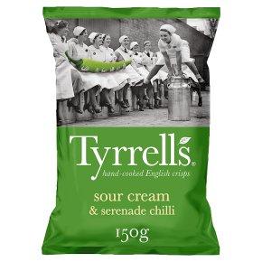 Tyrells Sour Cream & Serenade Chilli
