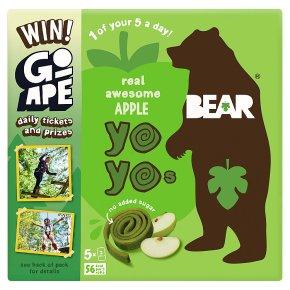 Bear pure fruit apple yo yos