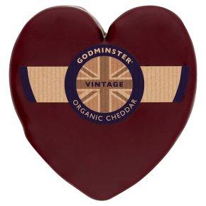 Godminster Organic Vintage Cheddar Heart 400g