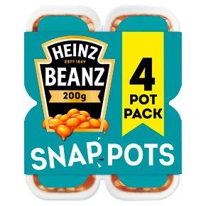 Heinz Baked Beanz snap pots
