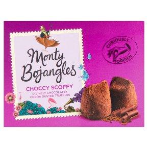 Monty Bojangles Choccy Scoffy Dusted Truffles
