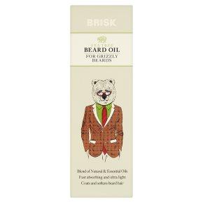 Brisk Beard Oil Tea Tree