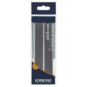 Korbond Hook & Loop Black Stick On