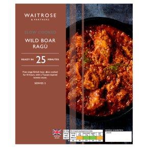 Waitrose Slow Cooked Wild Boar Ragu