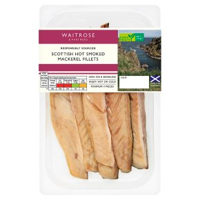 Waitrose Boneless Hot Smoked Mackerel Fillets