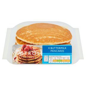Waitrose American Style Buttermilk Pancakes