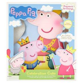 Awe Inspiring Peppa Pig Celebration Cake Waitrose Partners Funny Birthday Cards Online Necthendildamsfinfo