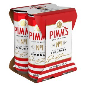 Pimm's Perfectly Mixed with Lemonade