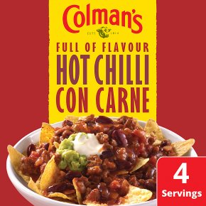 Colman's Hot Chilli Con Carne