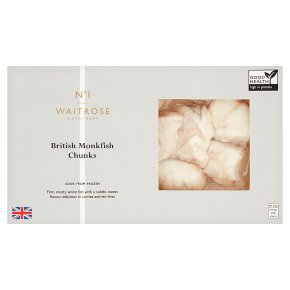 Waitrose 1 British Monkfish Chunks