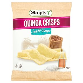 Simply 7 Quinoa Crisps Salt Vinegar