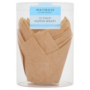 Waitrose Cooks' Homebaking tulip wraps