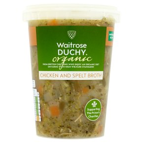 Waitrose DUCHY chicken & spelt soup