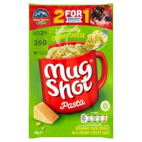 Mug Shot creamy cheese pasta