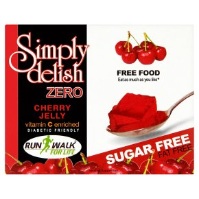 Simply delish zero cherry jelly