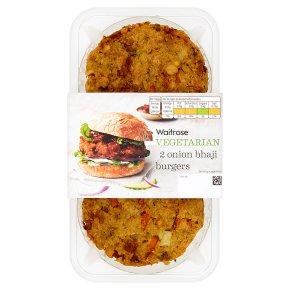 Waitrose Veg Onion Bhaji Burgers