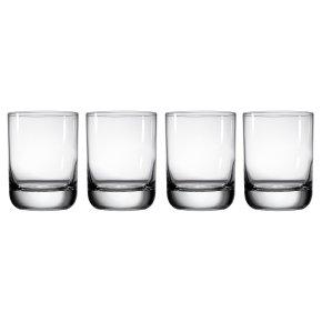 Waitrose Dining Chefs' Entertaining tumbler glasses, pack of 4
