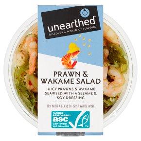 Unearthed Prawn & Wakame Salad