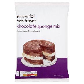 essential Waitrose Chocolate Sponge Mix