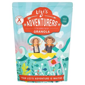 Lizi's Adventurers Strawberry Granola