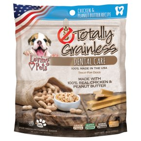 Totally Grainless Dental Care Chicken & Peanut Butter L