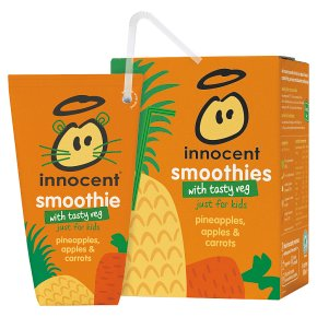 innocent kids pineapple & carrot
