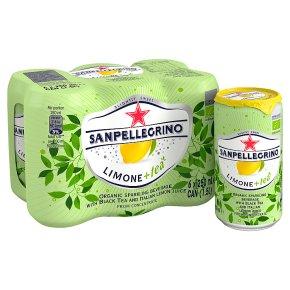San Pellegrino Limone+Tea