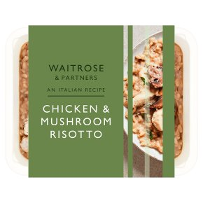 Waitrose Italian Chicken and Mushroom Risotto