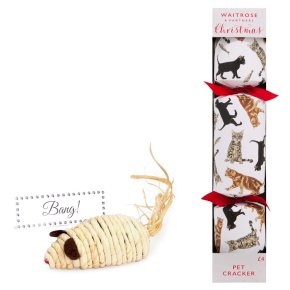 Waitrose Christmas Cracker For Your Cat