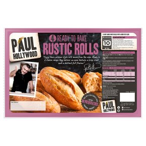 Paul Hollywood 4 Ready to Bake Rustic Rolls