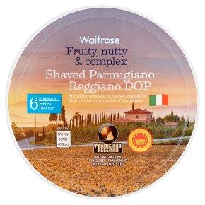 Waitrose Parmigiano Reggiano Shaved Cheese