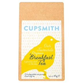 Cupsmith Breakfast Tea 15 Tea Pyramids