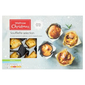 Waitrose Christmas 12 Soufflette Selection