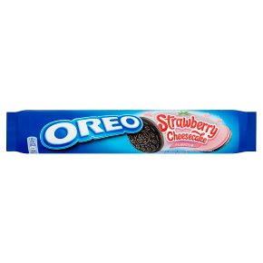 Oreo Strawberry Cheesecake Flavour Biscuits