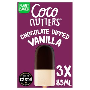 Coco Nutters Chocolate Dipped Vanilla Sticks